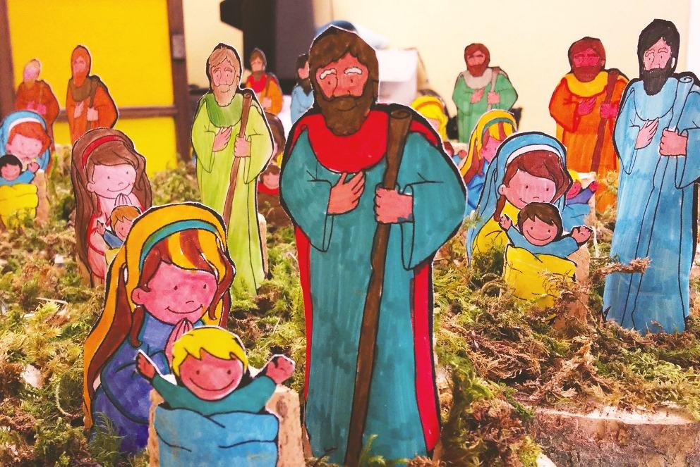 Luci e colori di Natale in valle