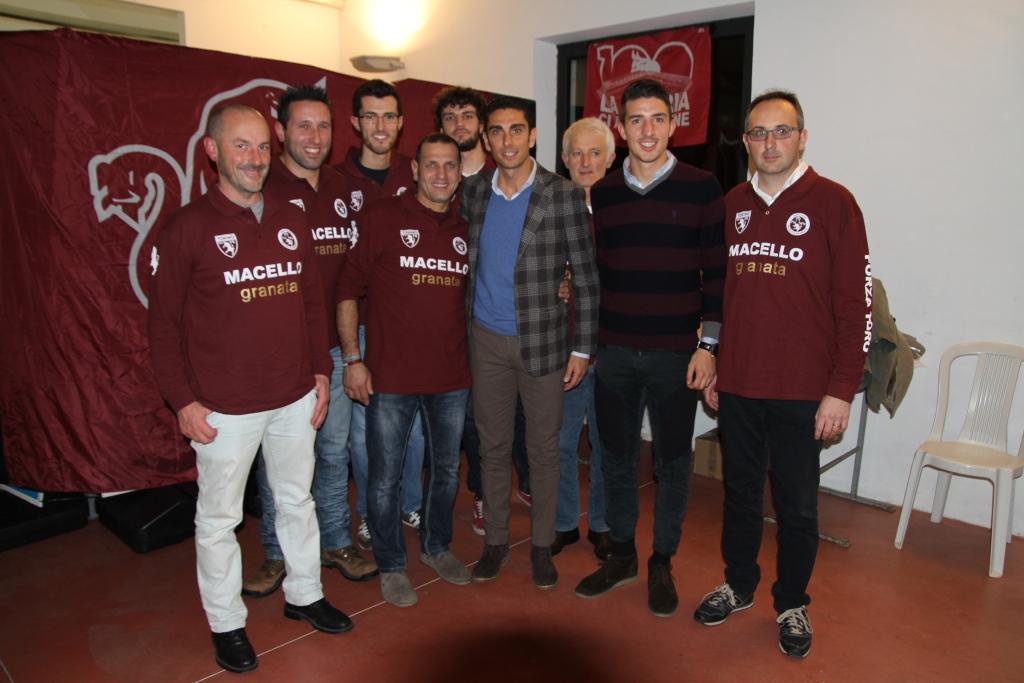 """Lo scorso 3 dicembre grandi ospiti alla cena sociale del Toro Club """"Macello Granata"""""""