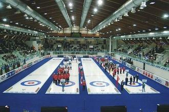 Europei juniores di curling al palaghiaccio di Pinerolo