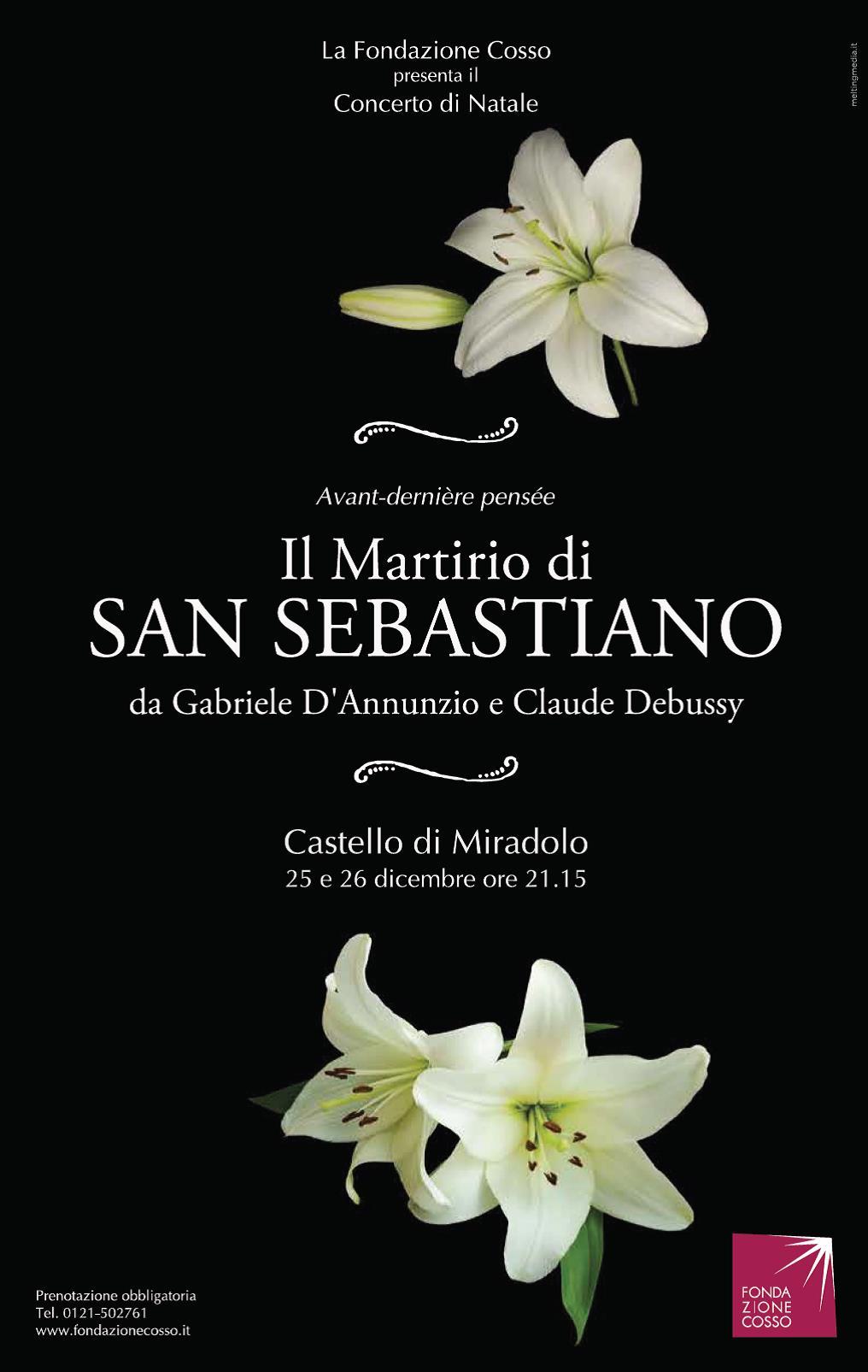 """Al castello """"Il martirio di San Sebastiano"""" diventa musica"""