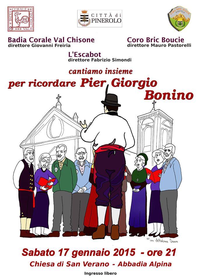 Abbadia Alpina. Il 17 gennaio in coro per ricordare Pier Giorgio Bonino