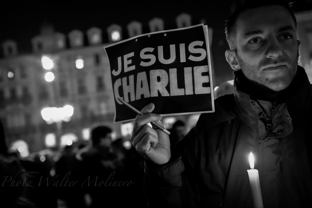 In piazza per dire: Je suis Charlie