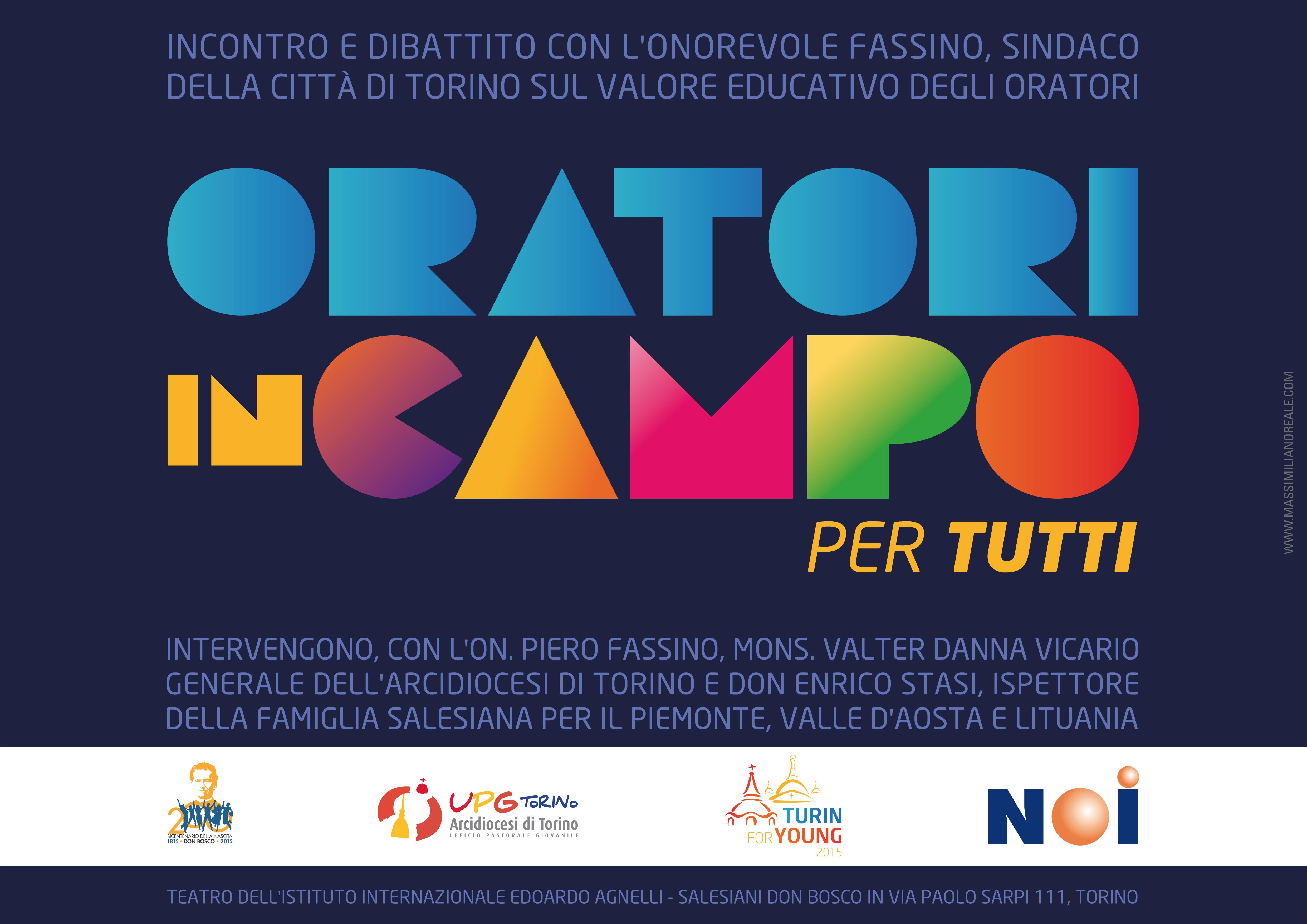 Oratori: in campo a Torino
