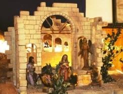 I pastori trovarono Maria e Giuseppe e il bambino