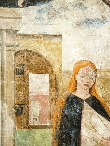 Finalmente salvi gli affreschi di Sant'Anna