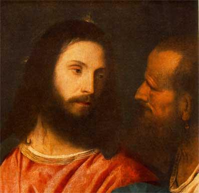 Gesù fissò lo sguardo su di lui