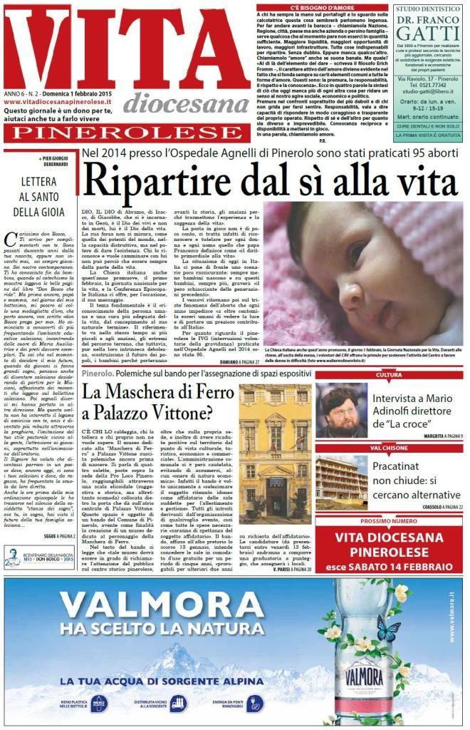 prima pagina 1 febbraio