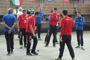 Un momento dell'incontro tra La Perosina e Brb Ivrea