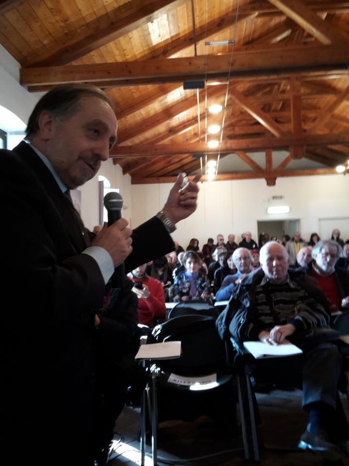 Eugenio Buttiero presentazione progetto Abbazie Santa Maria