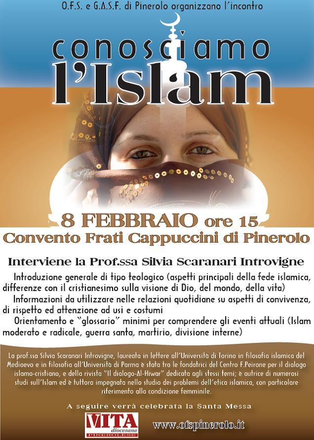 """Pinerolo. L'8 febbraio incontro """"Conosciamo l'Islam"""""""