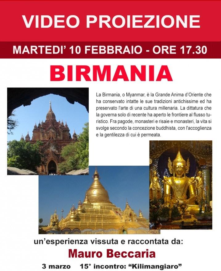 Pinerolo. Mauro Beccaria racconta della Birmania