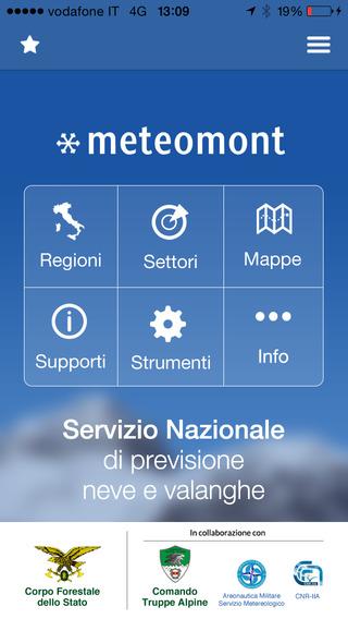Meteomont la nuova app per tutti gli appassionati di montagna