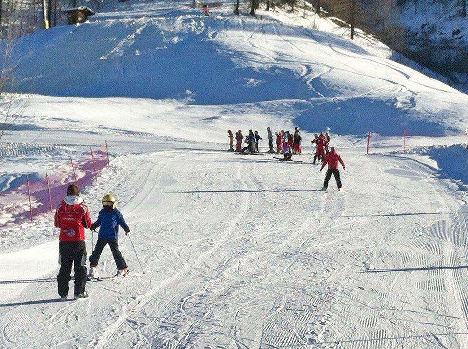 Fuoripista vietato in alta Val Chisone