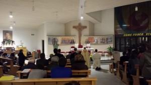 Adorazione nella chiesa Spirito Santo di Pinerolo