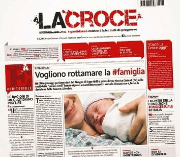 La Croce: un giornale a difesa della cultura della vita