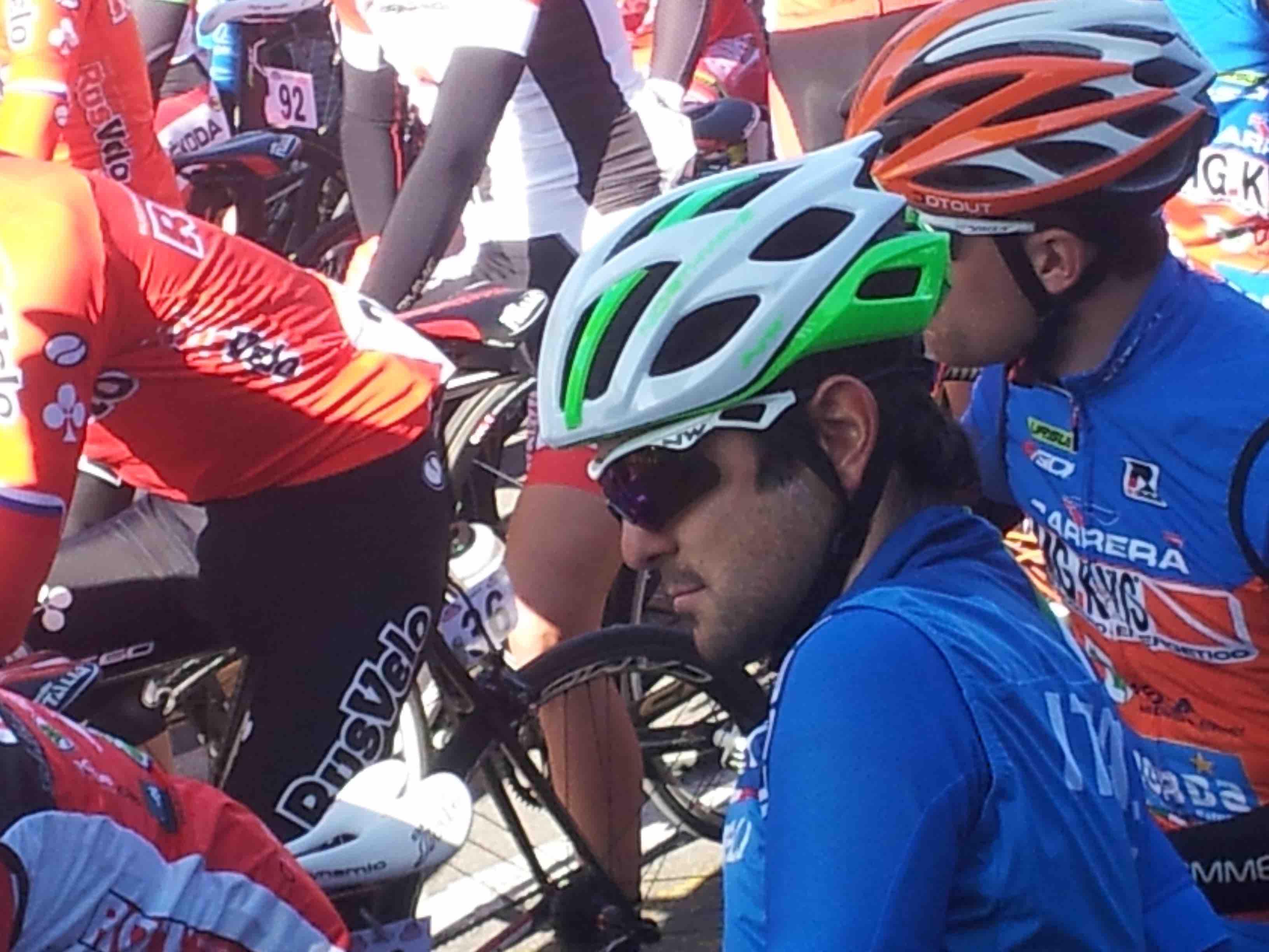 Ciclismo. Jacopo Mosca, esordio in azzurro con fuga di 130 km