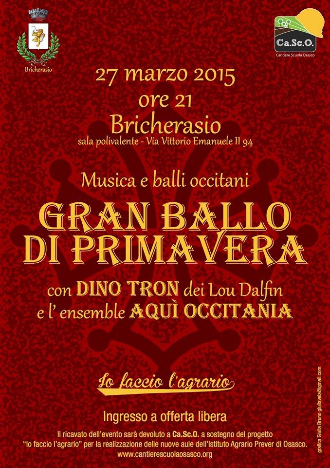 Balli occitani Bricherasio 27 marzo 2015
