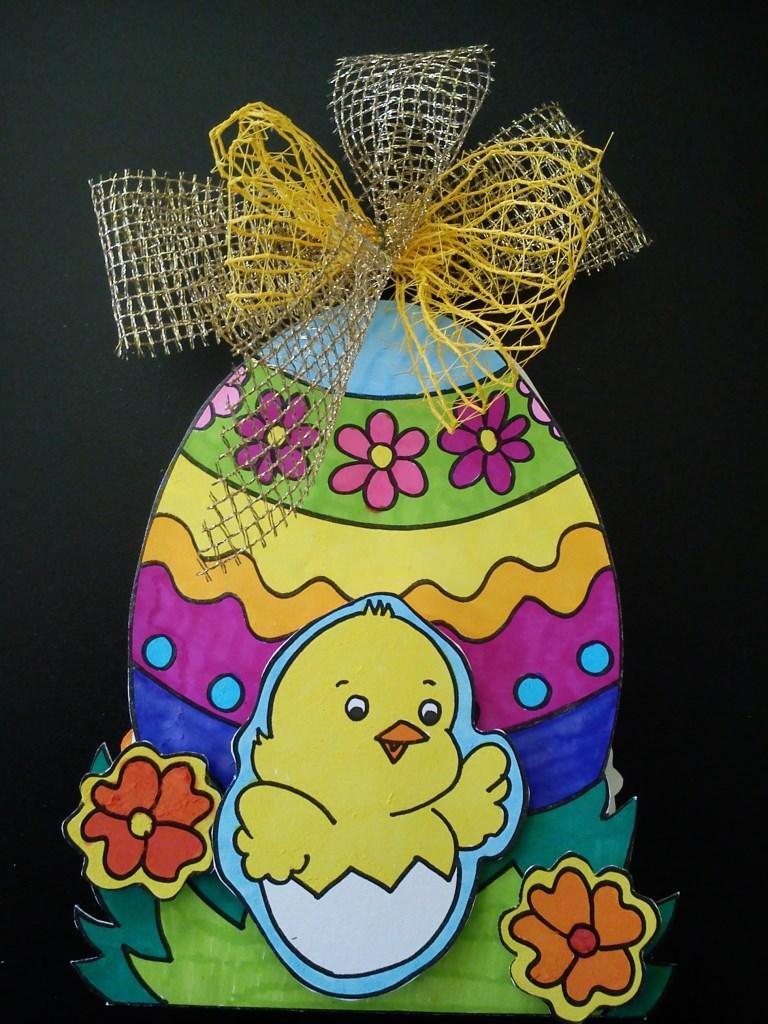 Pasqua – Un'idea per un biglietto di auguri fai da te