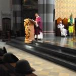 Il precetto pasquale interforze nella cattedrale di Pinerolo (foto Garlasco)