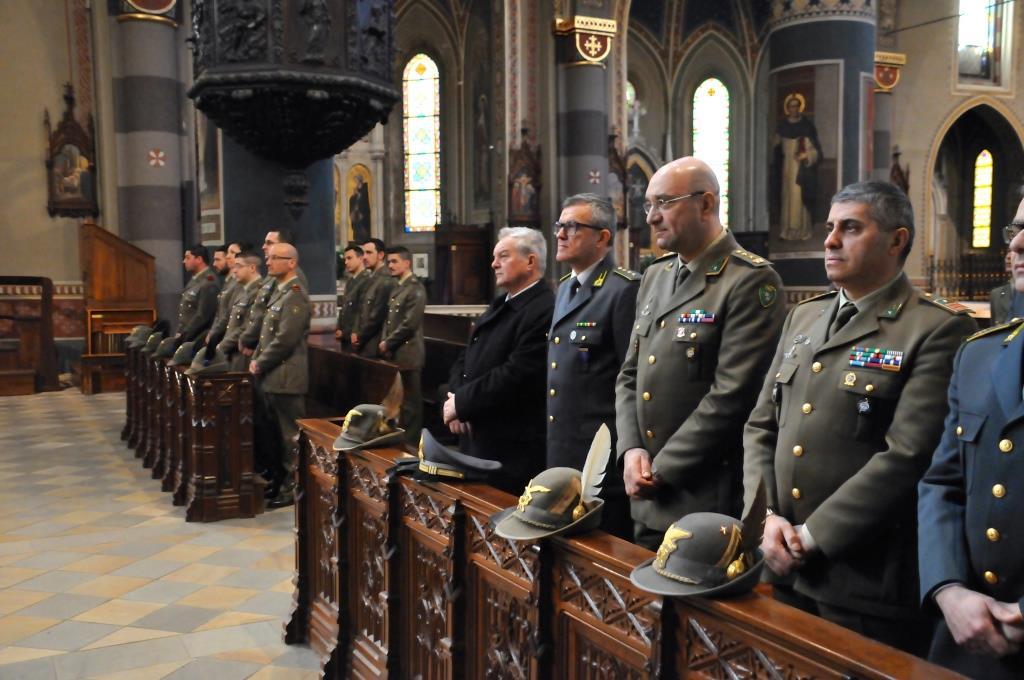 [Photogallery] Celebrato il precetto pasquale interforze nella cattedrale di Pinerolo
