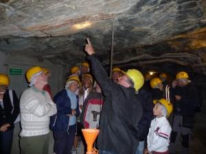 Visita con ex minatori B