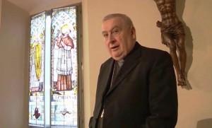 il Vescovo di Novara, mons. Brambilla