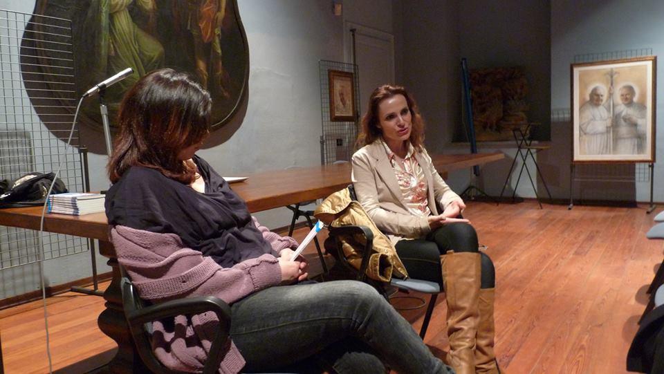 Serena Castastini a Pinerolo: l'anoressia? È una malattia dell'anima