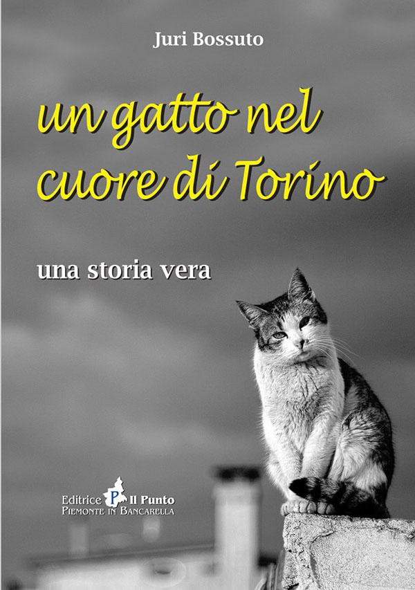 """A Pinerolo la presentazione del libro """"Un gatto nel cuore di Torino"""""""