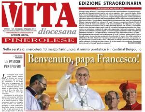 La prima pagina dell'edizione speciale di Vita per l'elezione di Papa Francesco