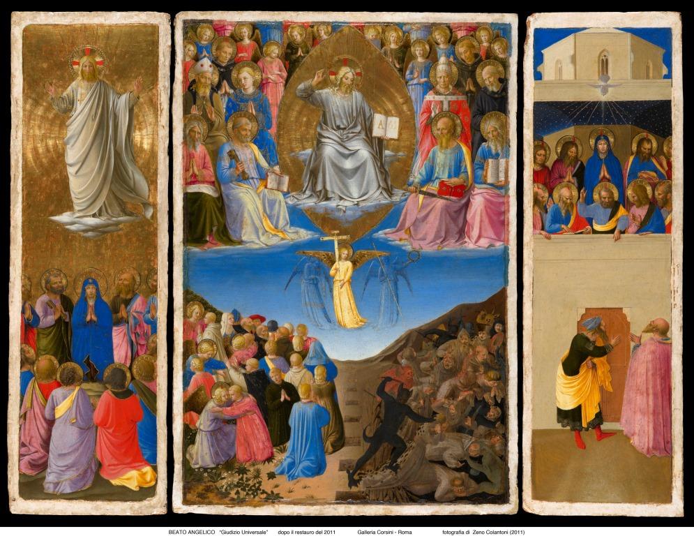 Ascensione, Giudizio e Pentecoste secondo Beato Angelico