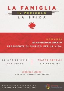 22 aprile 2015 gianfranco AMATO torino