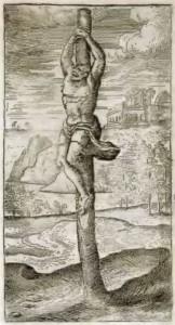 Allegato 3 - Vita 6, Figura 3 [1594 - Pieter Van DerBorcht, 'Appensione, o popolarmente Impalatura' (Stavro Semplice)]
