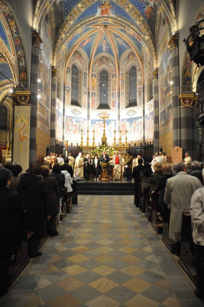 Triduo pasquale in Cattedrale e scambio ecumenico dei doni
