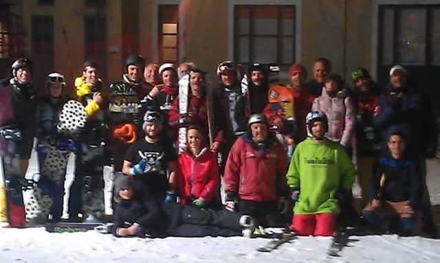 Si scia di sera al colle del Lys su una neve fantastica!
