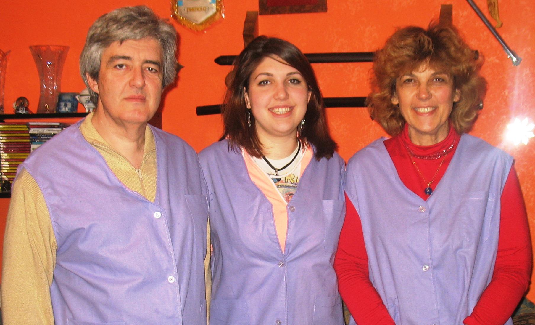 #sindone2015. Una famiglia della Val Pellice tra i volontari per l'ostensione