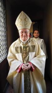il vescovo di Pinerolo mons. Debernardi
