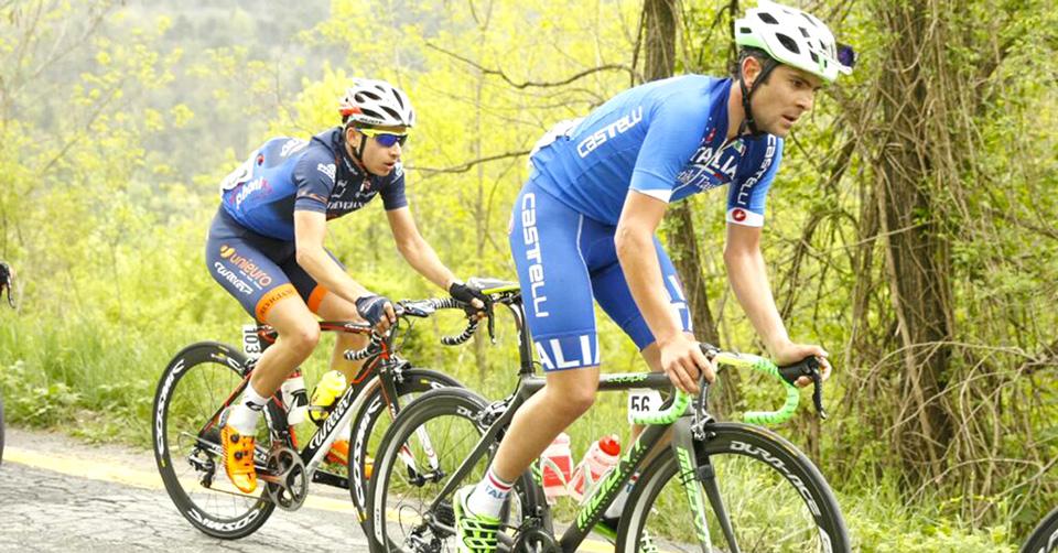 Ciclismo. Jacopo Mosca ancora protagonista con la nazionale