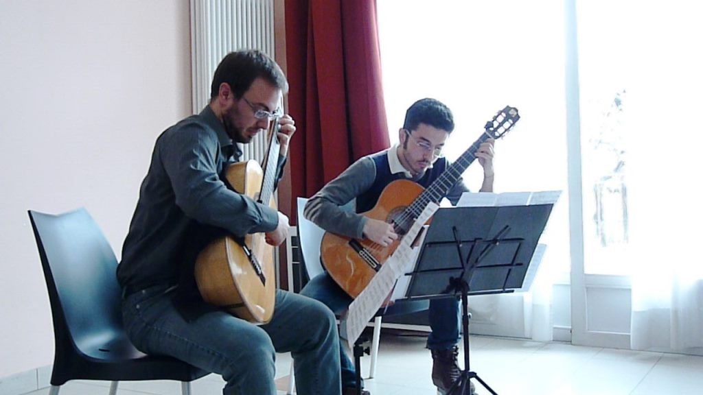 [ photo & video ] Rassegna chitarristica alla casa dell'anziano di Pinerolo