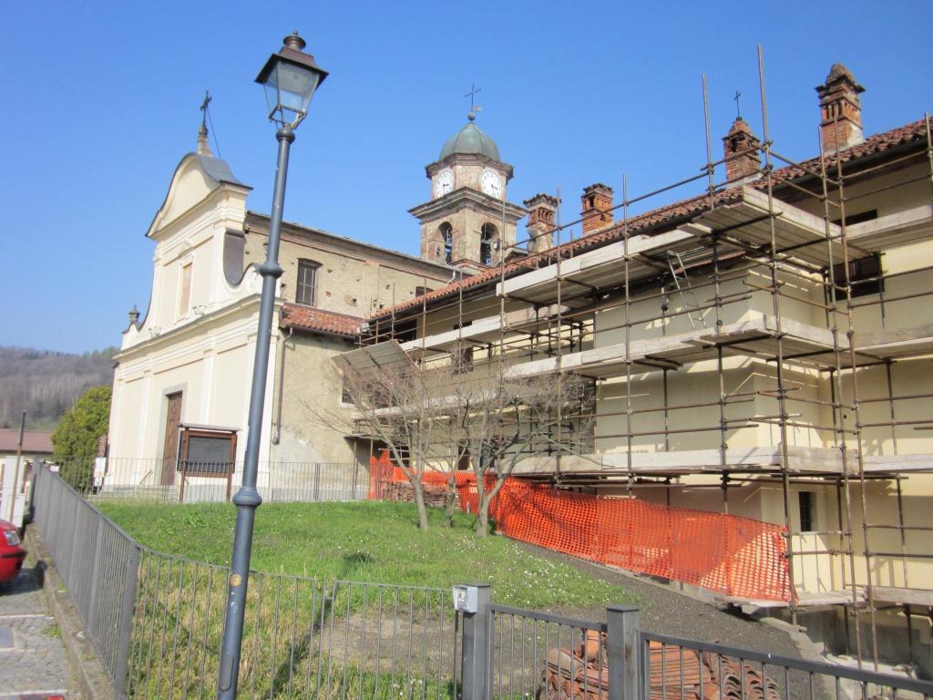 Lavori in corso nella parrocchia di San Pietro Val Lemina