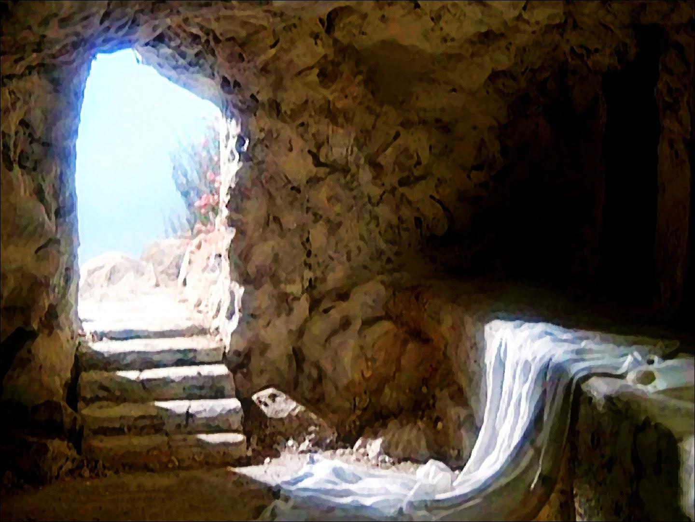 La pietra era stata tolta dal sepolcro