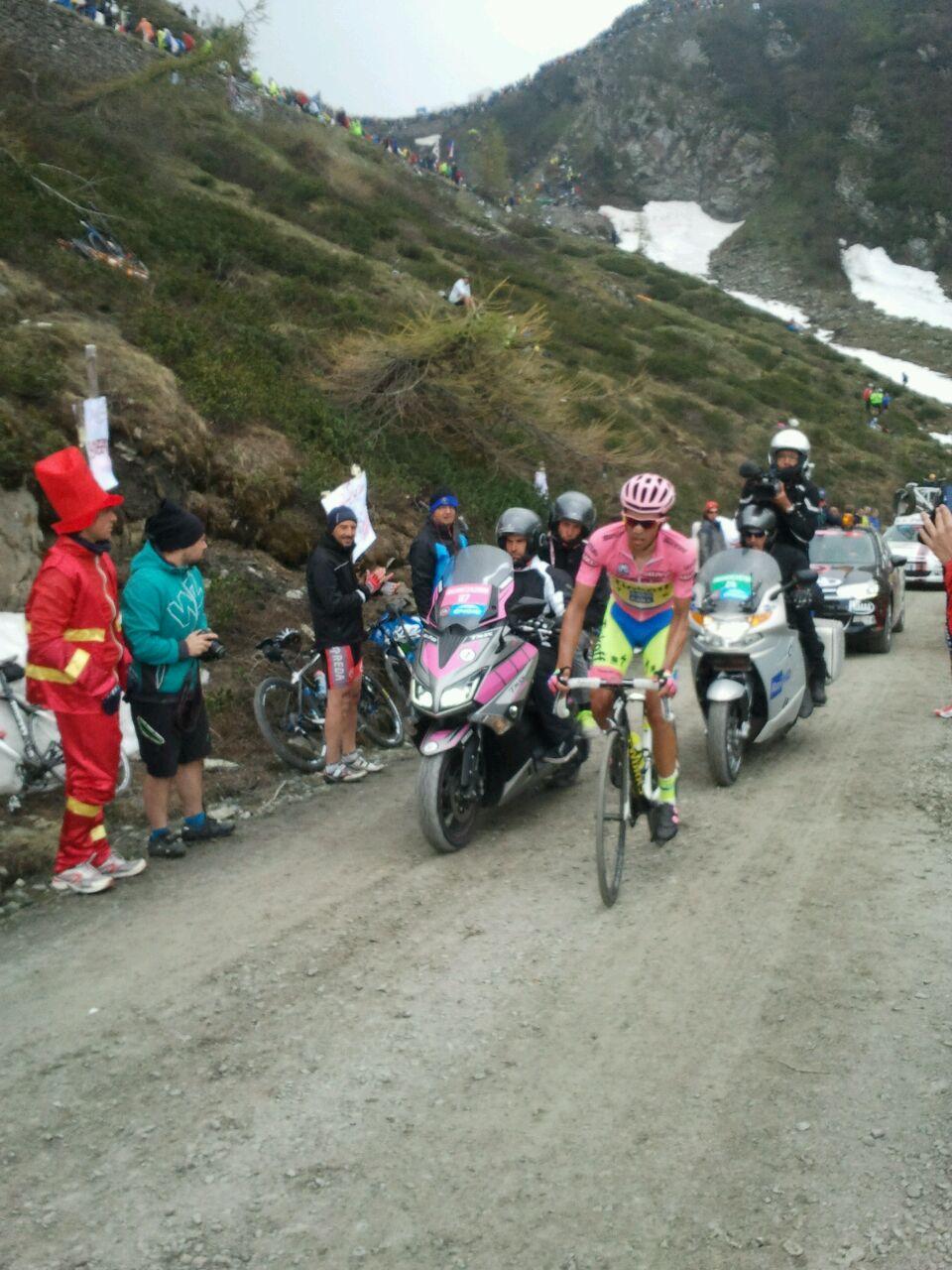 [Fotogallery] Il Giro d'Italia al Colle delle Finestre