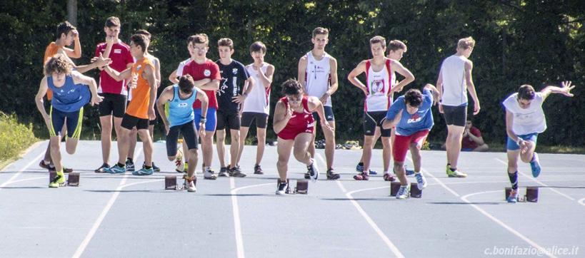 [Fotogalley] A Borgaretto i campionati provinciali cadetti di atletica