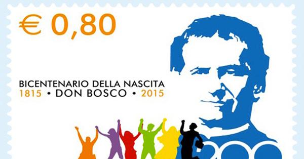 Un francobollo per i 200 anni di Don Bosco