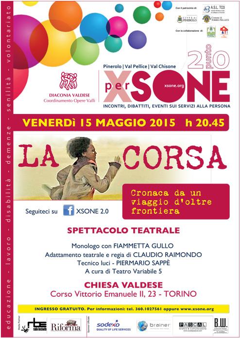 A Torino uno spettacolo teatrale sull'atleta olimpica morta tentando di arrivare in Italia
