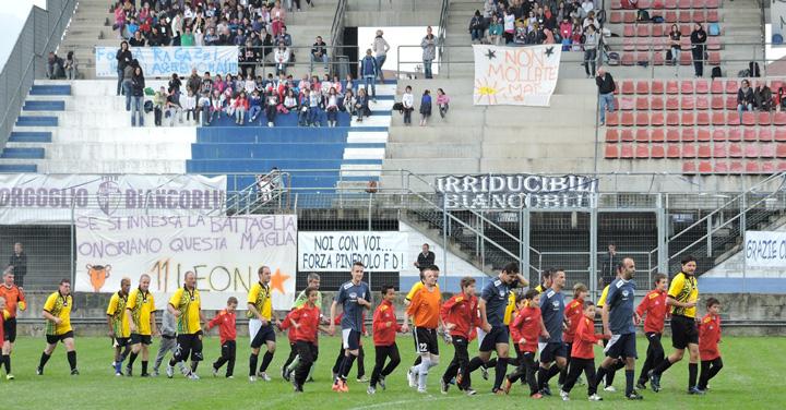 Allo stadio Barbieri la giornata finale del progetto del Pinerolo FD per le scuole