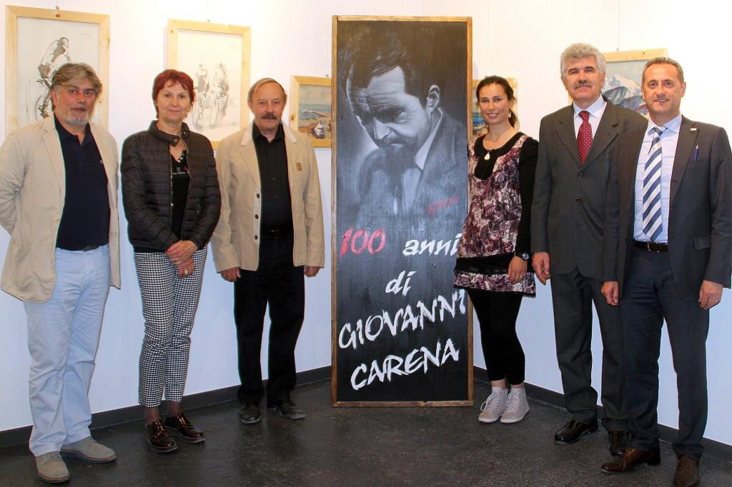 Gap ha festeggiato i 100 anni di Giovanni Carena