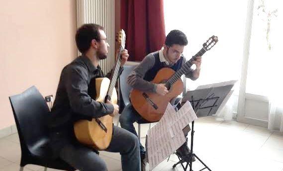 Sabato 23 maggio con il duo Renda-Trucco si conclude la Rassegna Chitarristica Pinerolese