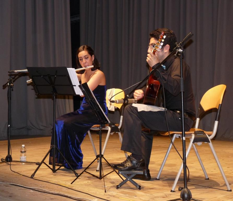 [ photogallery e video ] Il duo Renda-Fioccardi ha aperto la Rassegna Chitarristica Pinerolese 2015