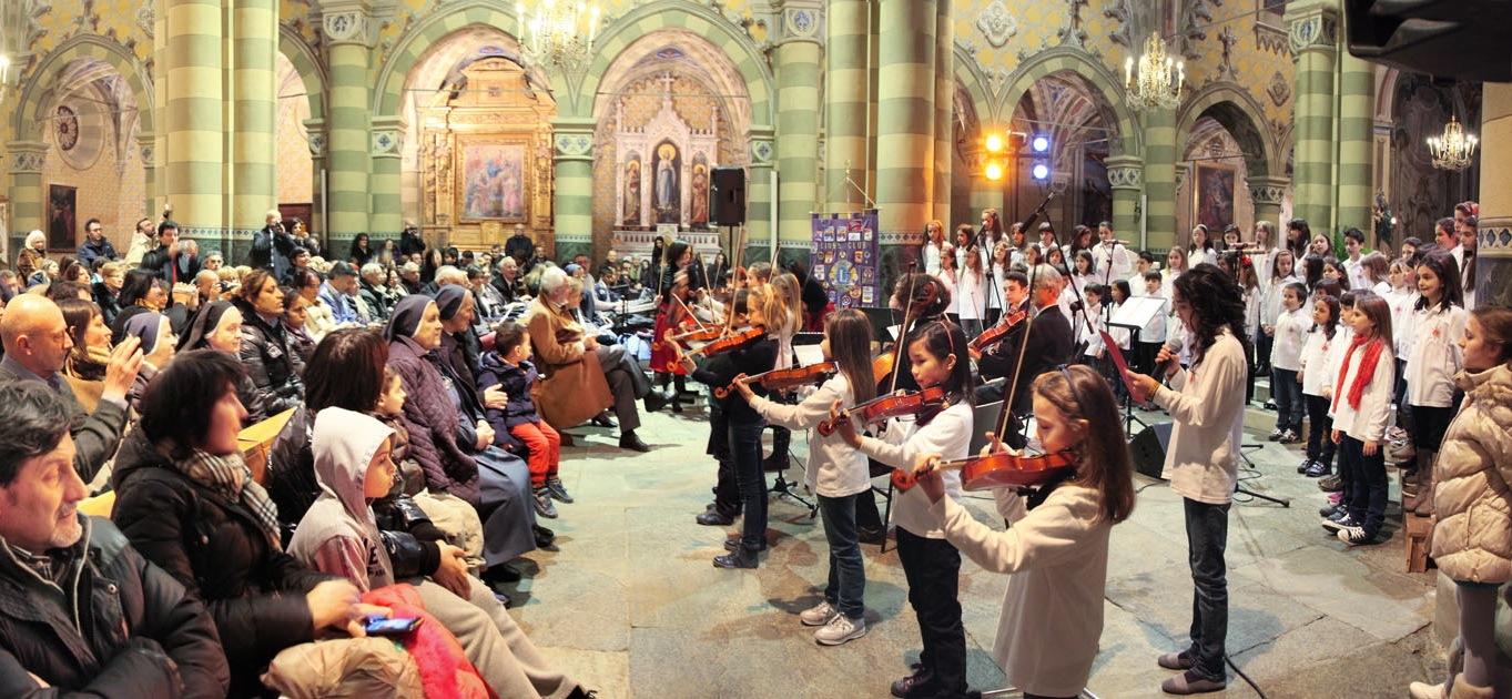 Pinerolo. Questa sera 60 giovani musicisti in concerto per il Nepal