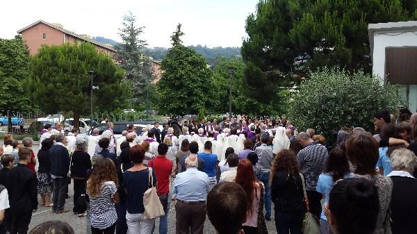 Questa mattina a Pinerolo l'ultimo saluto al novizio salesiano Jedzrej